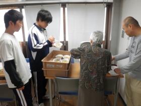 大田区立大森第十中学校体験学習